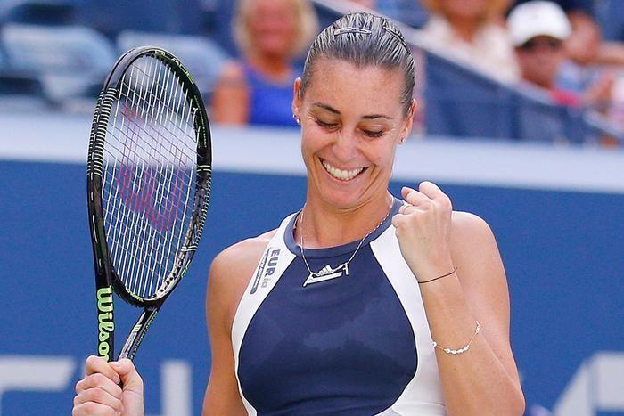 Flavia Pennetta Flavia Pennetta stuns Kvitova at US Open Sport 3 News