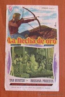 Flecha de oro movie poster