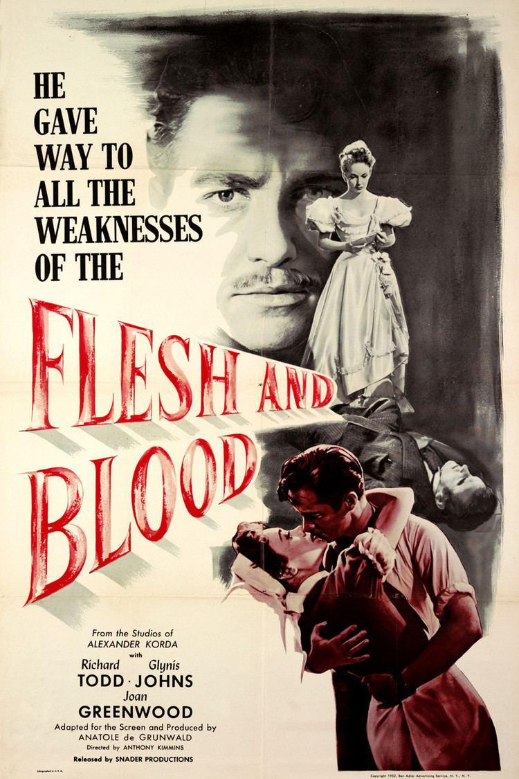Flesh and Blood (1951 film) wwwgstaticcomtvthumbmovieposters45680p45680