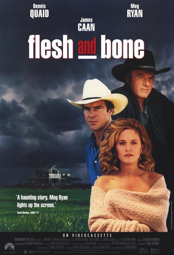 Flesh and Bone (film) Flesh and Bone starring Dennis Quaid Meg Ryan James Caan Julia