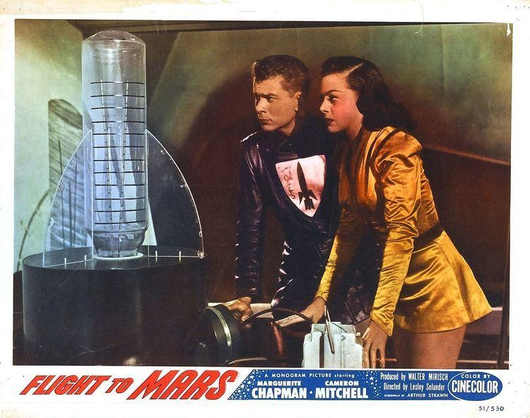 Flight to Mars (film) Poster for Flight to Mars 1951 USA Wrong Side of the Art