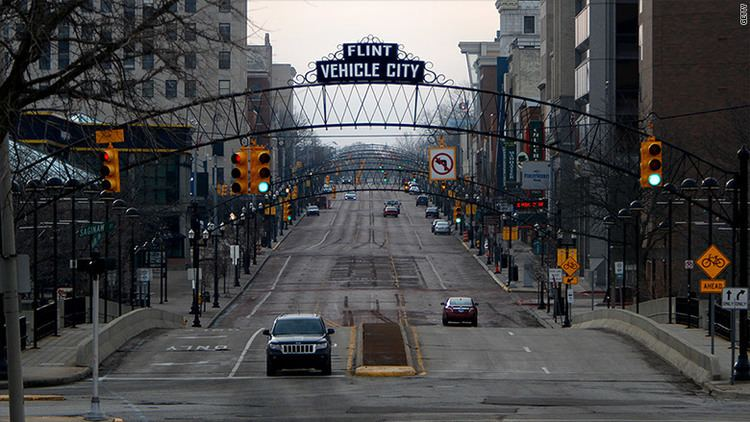 Flint, Michigan There are a lot of empty homes in Flint Michigan Feb 11 2016