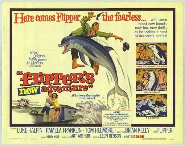 Flipper's New Adventure Flippers New Adventure movie posters at movie poster warehouse
