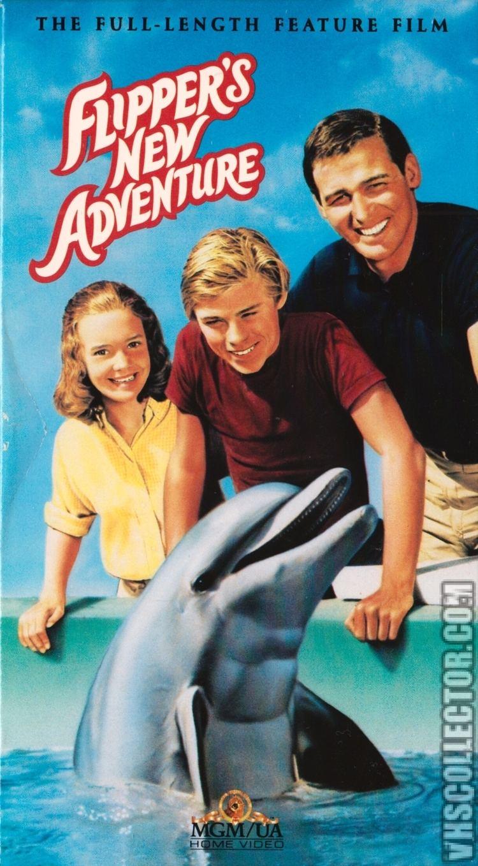 Flipper's New Adventure Flippers New Adventure VHSCollectorcom Your Analog Videotape