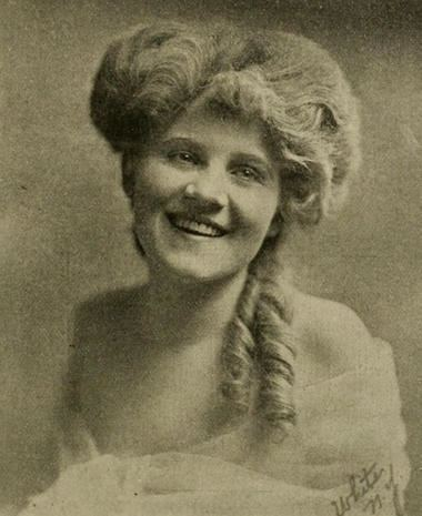 Florence Lawrence The First Biograph Girl Florence Lawrence the first