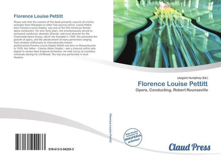 Florence Louise Pettitt Opinions on Florence Louise Pettitt