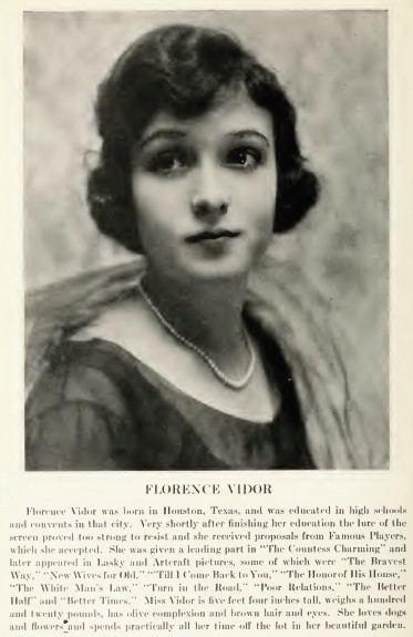 Florence Vidor FileFlorence Vidor Who39s Who on the Screenjpg