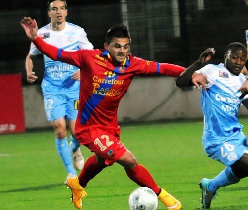 Florian Fabre Florian Fabre quitte le GFC Ajaccio CorseMatin