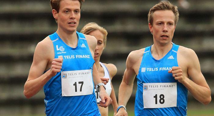 Florian Orth Florian Orth vor 5000MeterDebt in Oordegem Das Leichtathletik