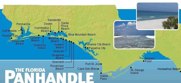 Florida Panhandle Panhandle Vacation Rental Map Find Rentals