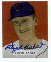 Floyd Baker wwwbaseballalmanaccomplayerspicsfloydbaker