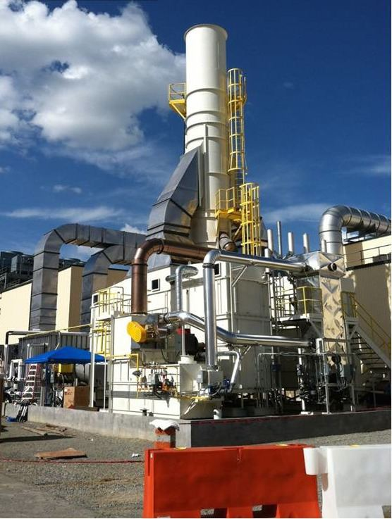 Fluidized bed concentrator