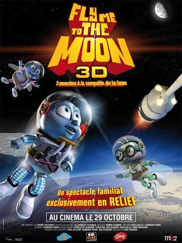 Fly Me to the Moon (film) Fly Me to the Moon Review Trailer Teaser Poster DVD Bluray