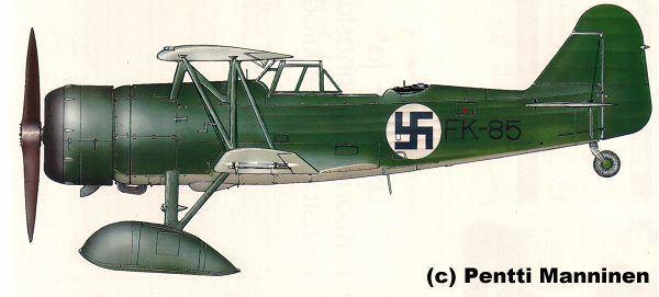 Fokker C.X WINGS PALETTE Fokker CX Finland