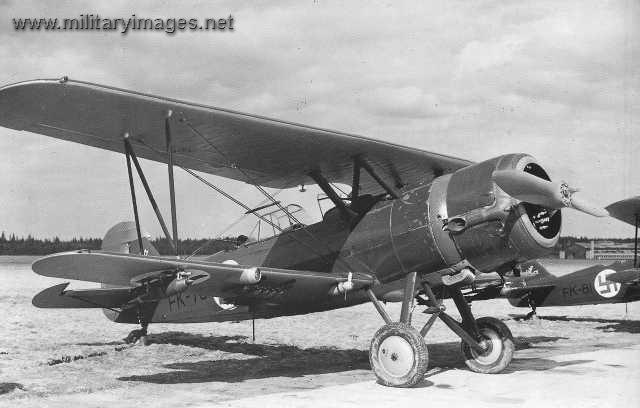 Fokker C.X Divebomber Fokker CX at SuurMerijoki MilitaryImagesNet A
