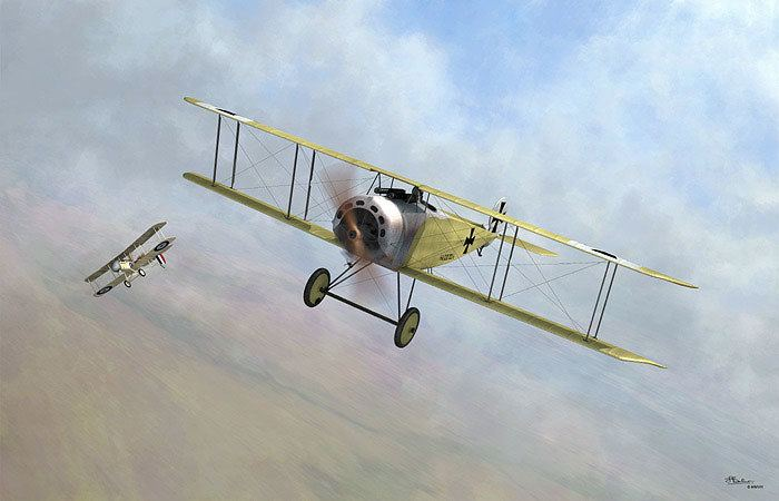 Fokker D.III Fokker DIII by Jerry Boucher Artwork No Scale