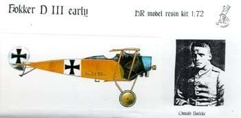 Fokker D.III HR Model 172 Resin Fokker DIII