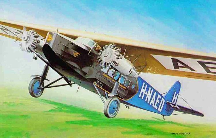 Fokker F.VIII Fokker F8 tekening 15cmjpg