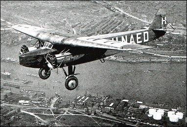 Fokker F.VIII Fokker F8 passenger
