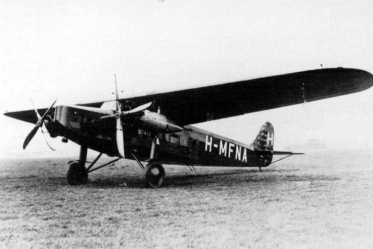 Fokker F.VIII Fokker F8 Hongarijejpg