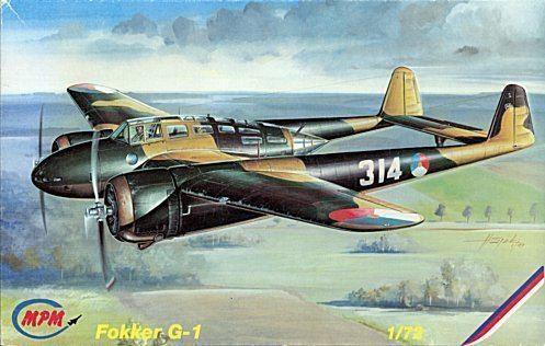 Fokker G.I MPM 172 Fokker GI Mercury