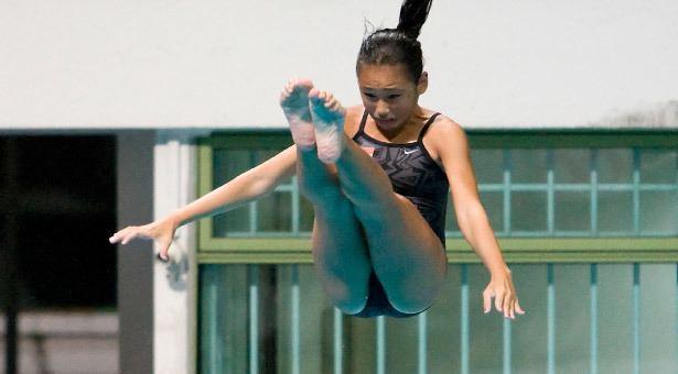 Fong Kay Yian diving