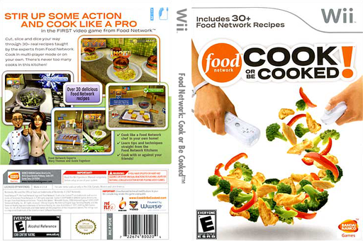 Food network cook or be cooked alchetron the free social food network cook or be cooked artgametdbcomwiicoverfullussfoeafpng1317736268 forumfinder Choice Image