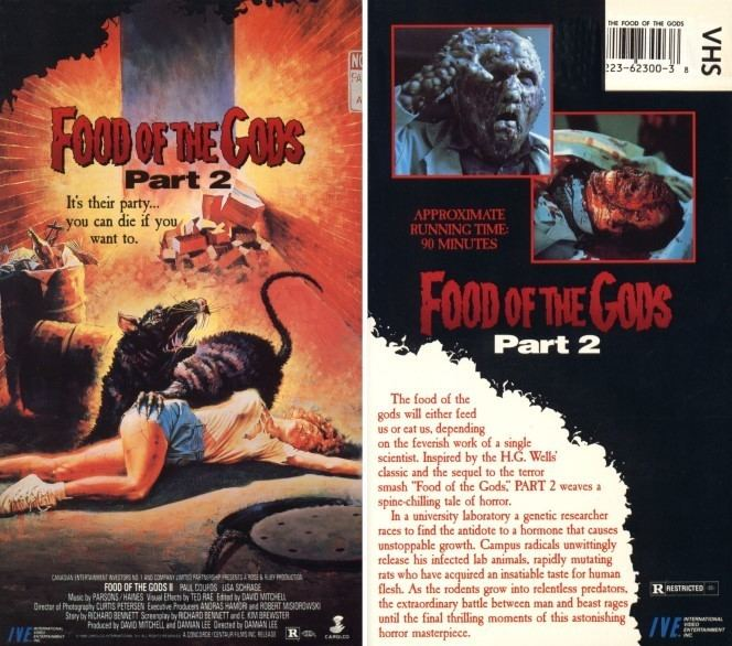 Food of the Gods II Food Of The Gods II 1989 aka Food Of The Gods Part 2 Gnaw