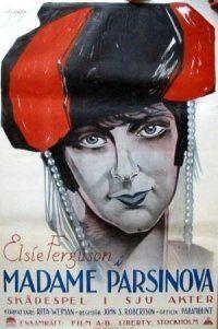 Footlights (1921 film) movie poster