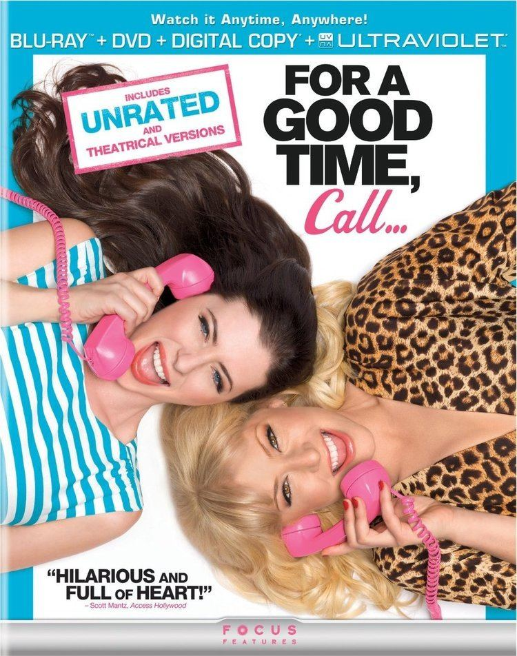 For a Good Time, Call... FOR A GOOD TIME CALL Bluray Review Collider