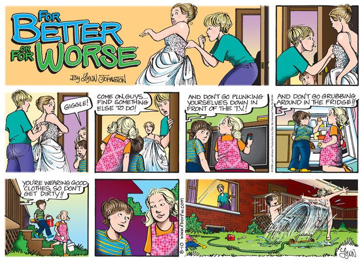 For better or worse strip