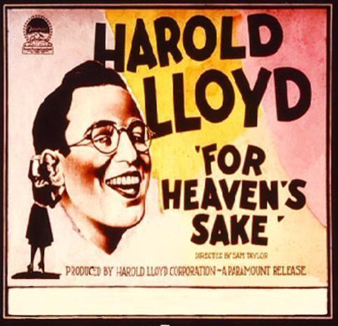 For Heaven's Sake (1926 film) For Heavens Sake 1926