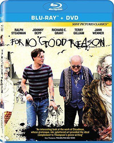 For No Good Reason Amazoncom For No Good Reason Bluray Johnny Depp Terry Gilliam