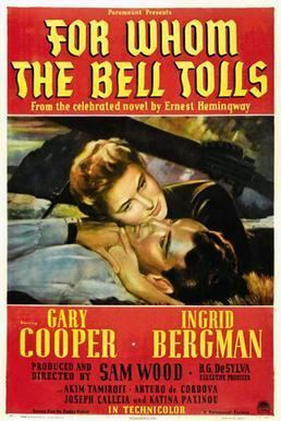 For Whom the Bell Tolls (film) movie poster