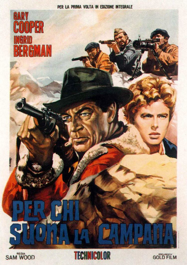 For Whom the Bell Tolls (film) For Whom the Bell Tolls