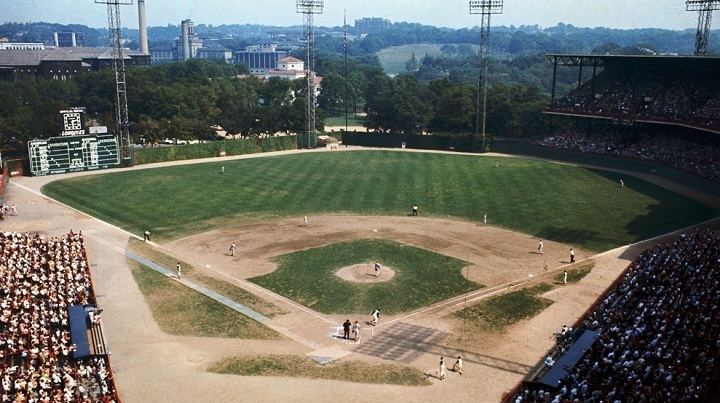 Image result for forbes field 1968 images