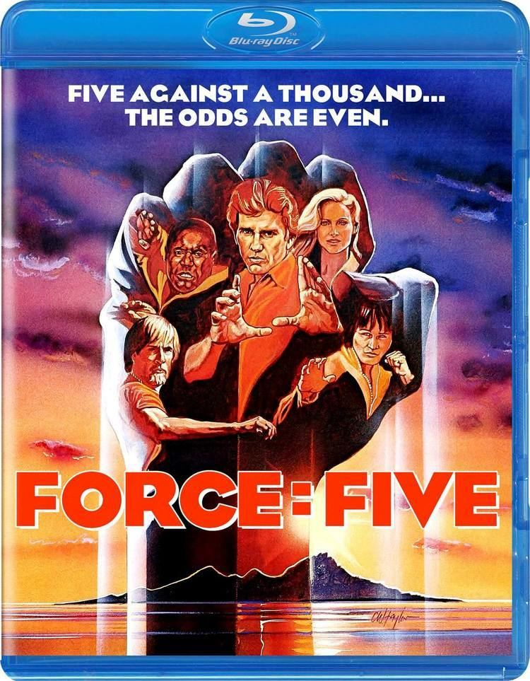 Force: Five Force Five Bluray Limited Edition 1000 copies