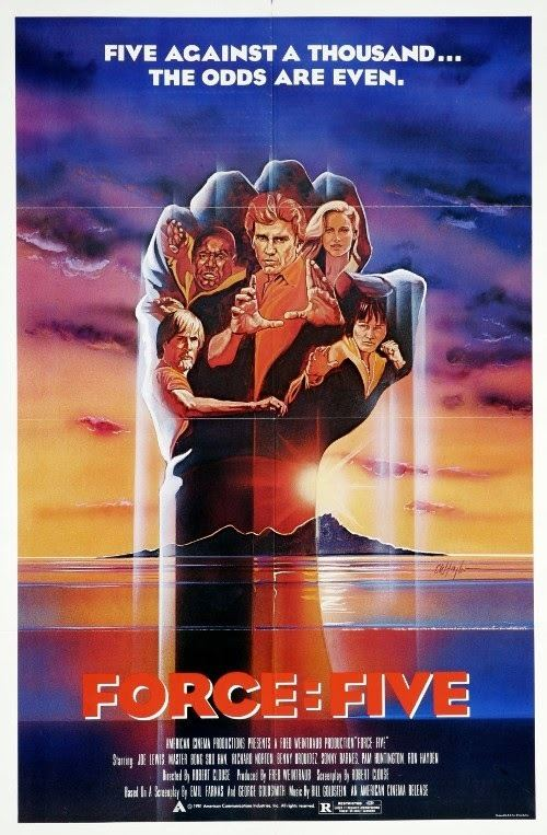 Force: Five Force Five 1981 Full movie Stickgrapplers Sojourn of