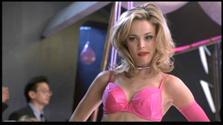 Forced Entry (2002 film) movie scenes In July McAdams told Allure I remember standing backstage dressed like a mechanic I had a pink bikini on underneath grease on my face