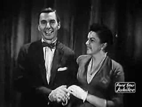 Ford Star Jubilee Judy Garland amp David Wayne introduction to The Palace Theatre Ford