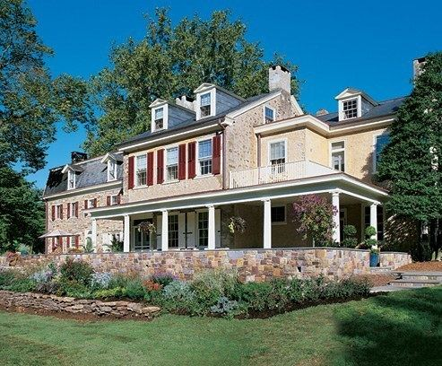 Fordhook Farm The Inn at Fordhook Farm Architectural Digest