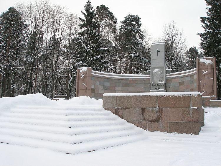 Forest Cemetery, Riga