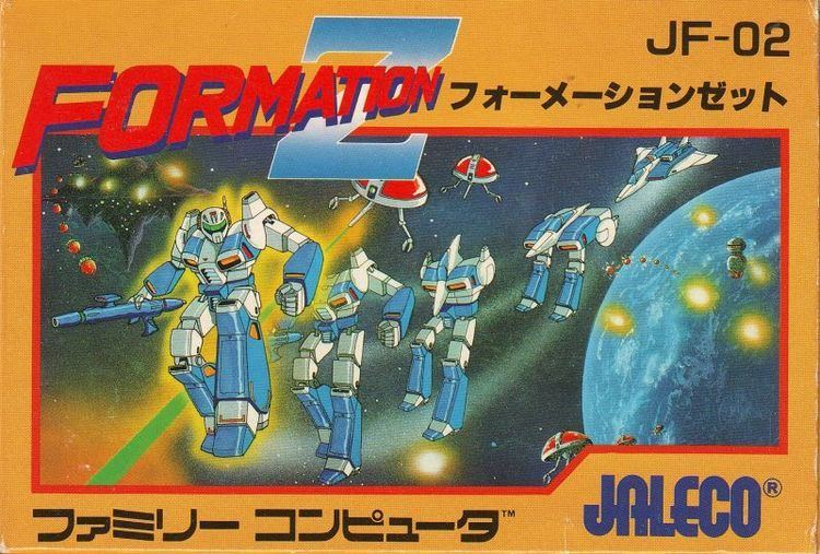 Formation Z Formation Z 1984 Arcade box cover art MobyGames