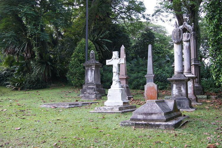 Former cemeteries in Singapore