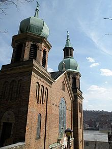 Former Saint Nicholas Croatian Catholic Church (Pittsburgh) httpsuploadwikimediaorgwikipediacommonsthu