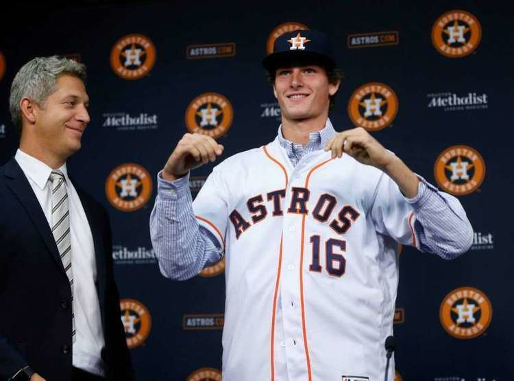Forrest Whitley Astros sign firstround pick Forrest Whitley Houston Chronicle