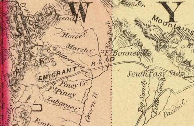 Fort Bonneville Wyoming Places Fort Bonneville