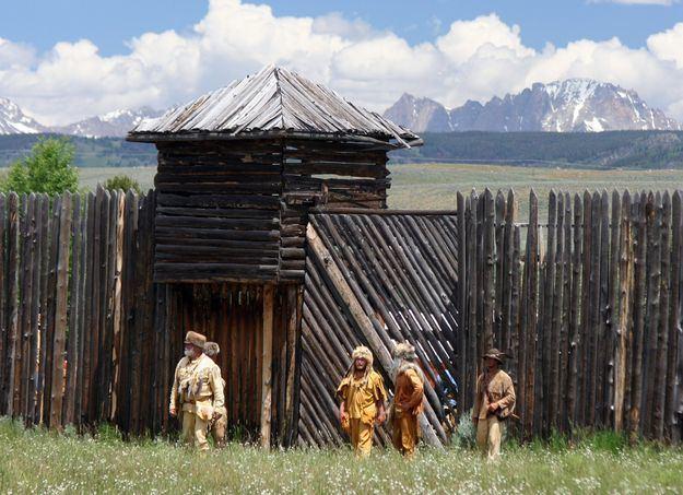 Fort Bonneville wwwpinedaleonlinecomnews200907scrPageantFo