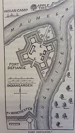 Fort Defiance (Ohio) Fort Defiance Ohio Wikipedia