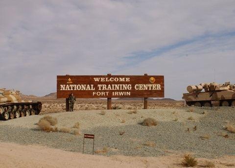 Fort Irwin National Training Center Fort Irwin Army Base in Barstow CA MilitaryBasescom California